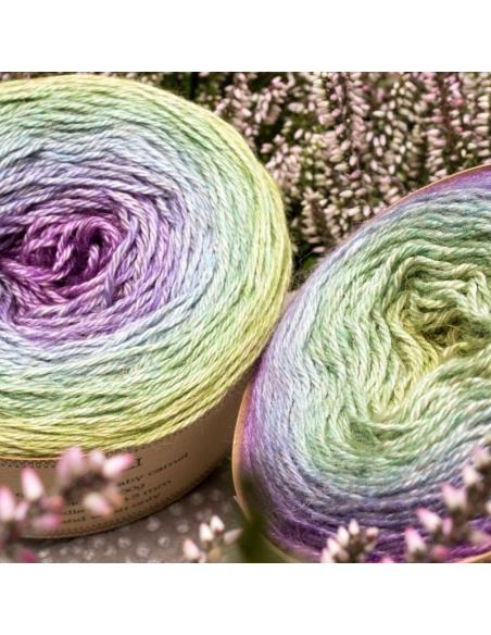Hand-dyed gradient yarn Bilum Muli