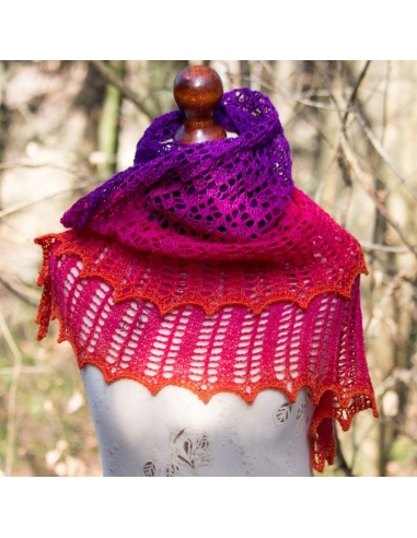 Wild Cosmos (knitting pattern)