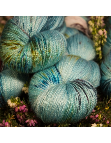 Nina Hand Dyed Yarns Lyra in Belize OOAK