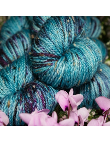 Nina Hand Dyed Yarns Donegal Aran in...