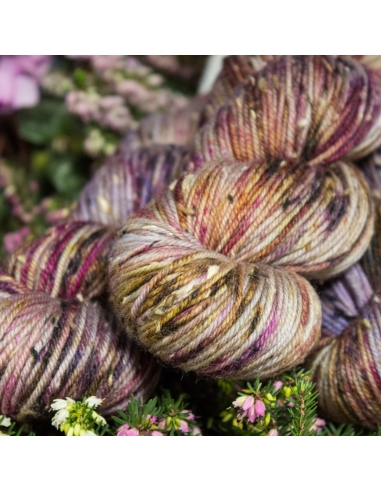 Nina Hand Dyed Yarns Donegal DK in Pansy