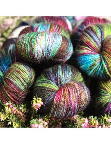 Nina Hand Dyed Yarns Twist Sock in...