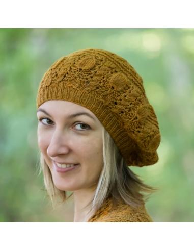 Avellana Beret (knitting pattern)