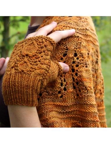 Avellana Mitts (knitting pattern)