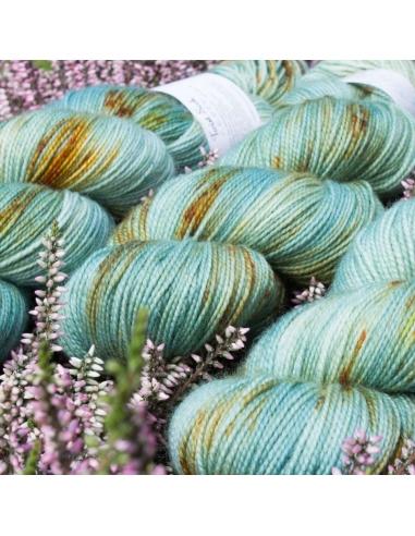 Nina Hand Dyed Yarns Twist Sock in Creek